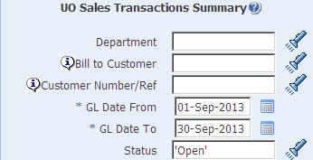 sales transaction summary