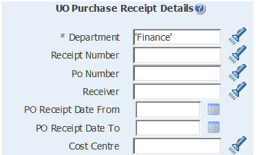 uo purchase receipt details