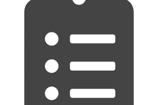 clipboard list icon